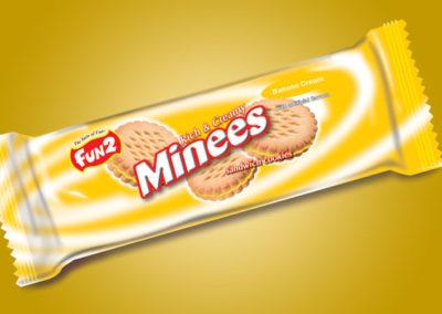 Banana Cream Minees Sandwitch cookies