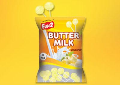 Butter Milk Lollipop