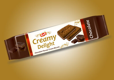Small Chocolate Cream biscuits