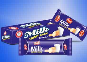 Milk Short Cake Biscuits