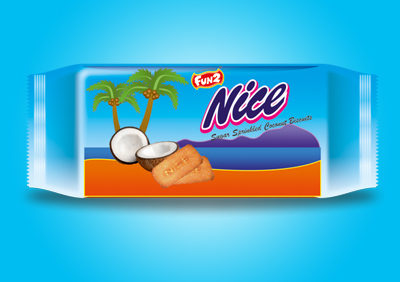 Nice Sugar Coated Biscuits